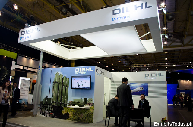 Diehl Defence Exhibit Booth