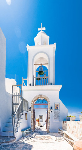 The entrance of Panagia Spiliani Monastery, Nisiros island, Greece.  Flickr ...
