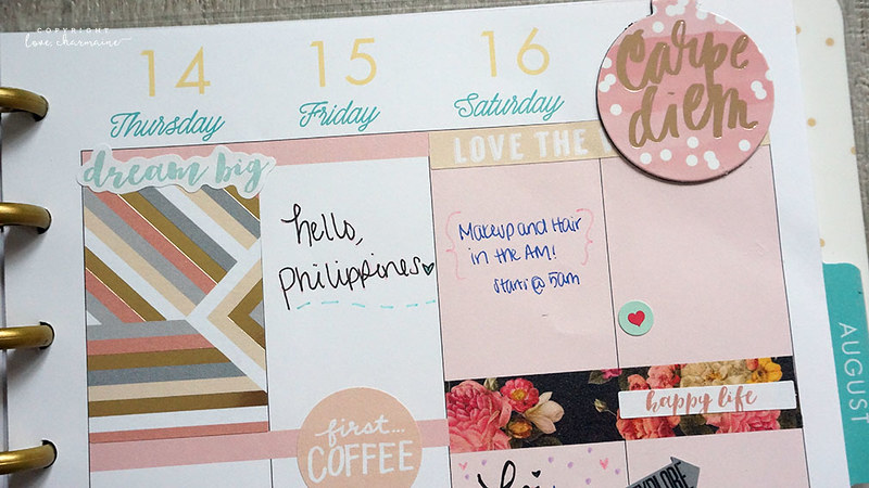 Plan With Me Week 28 | LoveCharmaine.com