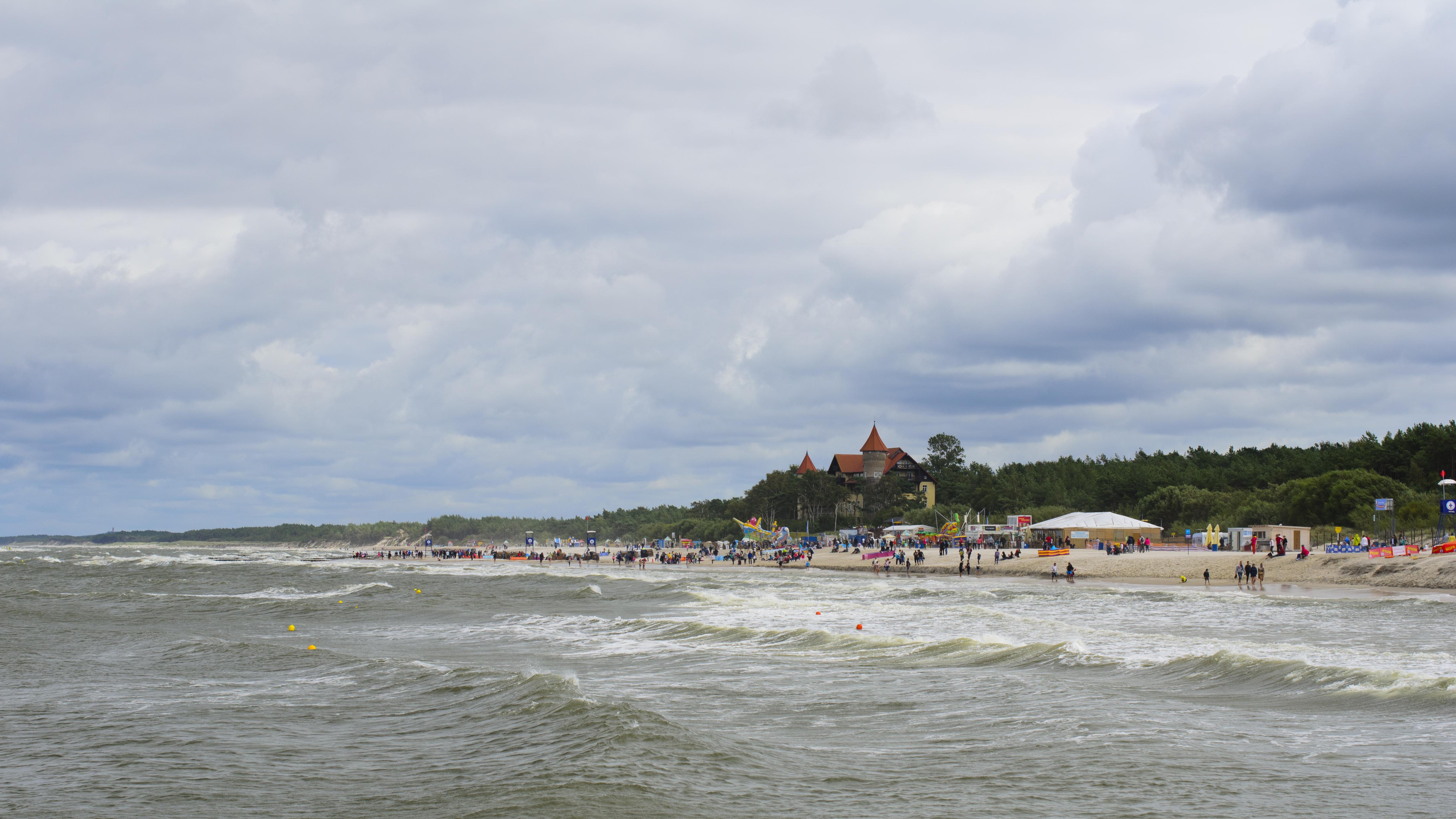 Łeba - Pologne
