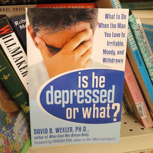is he depressed