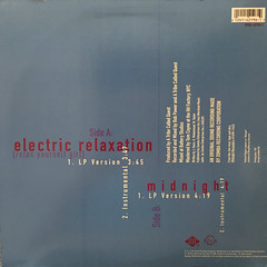 A TRIBE CALLED QUEST:ELECTRIC RELAXATION(JACKET B)