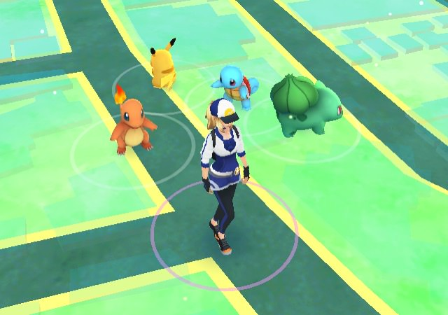 How to get pikachu at the beginning of pokemon go 00008