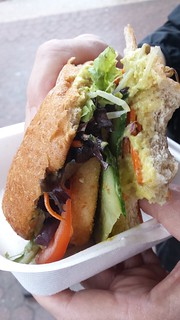 Satay Burger from Vegerama at Buddha's Birthday