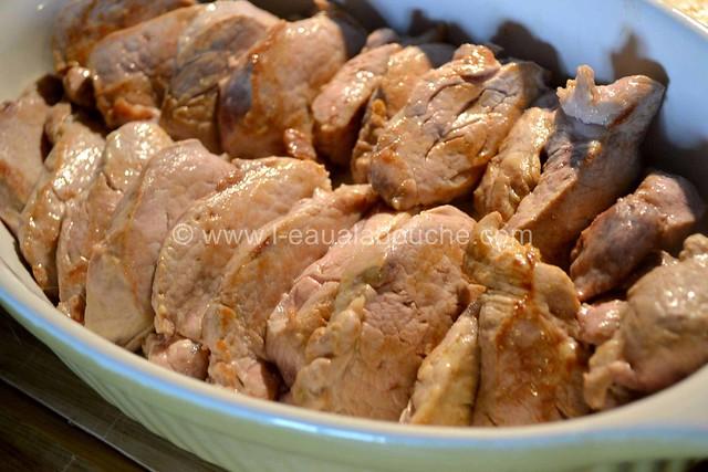 Filets Mignons aux Cèpes & Penne Rigate Gratinés © Ana Luthi Tous droits réservés  006