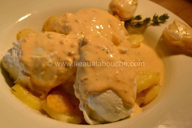 Oeufs Pochés à la Crème de Maroilles  © Ana Luthi  Tous droits réservés 002