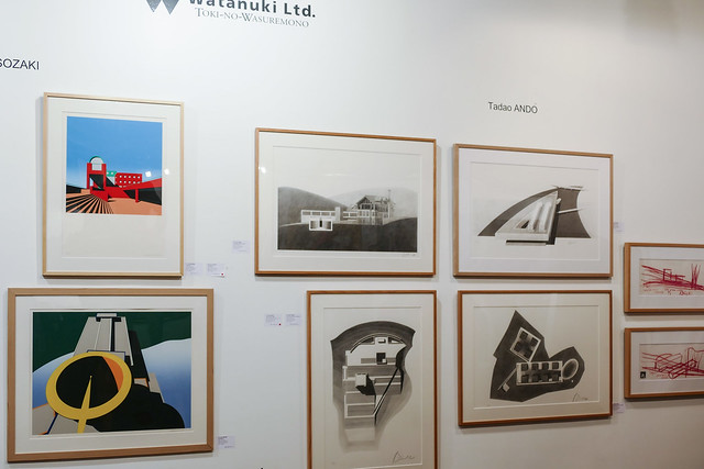 ときの忘れものでは安藤忠雄作品が人気でした。この作品を目当てに多くの建築家の学生さんが訪れたそうです。