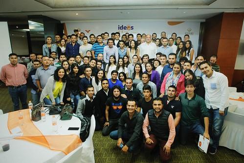 """12 Agosto 2016. Clausura Foro de jóvenes en movimiento """"Ideas con futuro"""""""