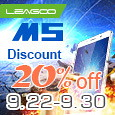 LEAGOO  M5 with 20% Discount