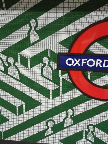 Oxford Circus Mosaics