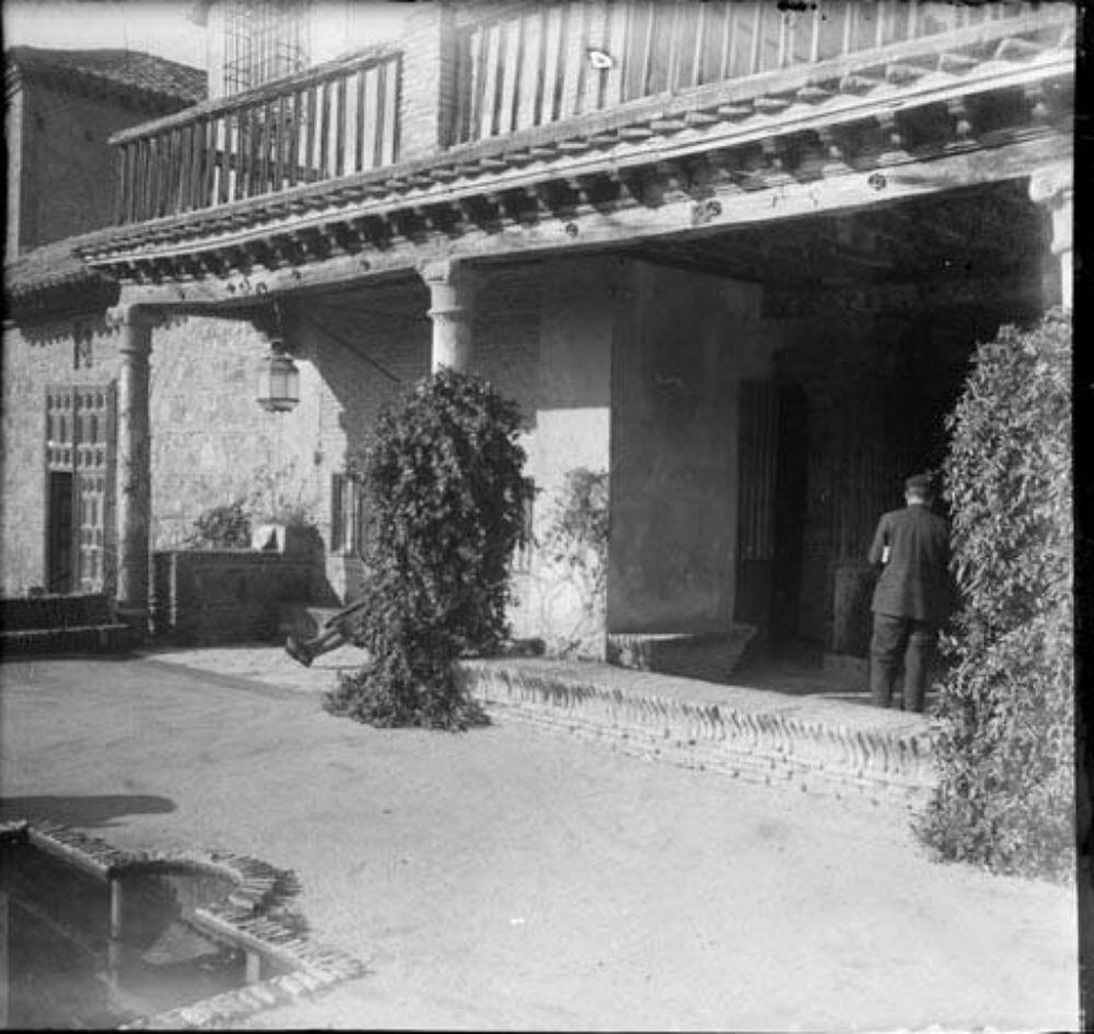 Museo del Greco en 1929. Fotografía de Óscar Torras i Buxeda © Centre Excursionista de Catalunya