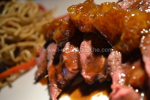 Magret de Canard Sauce au Thé Noir   © Ana Luthi Tous droits réservés  051