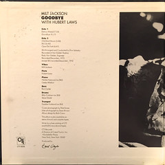 MILT JACKSON:GOODBYE(JACKET C)