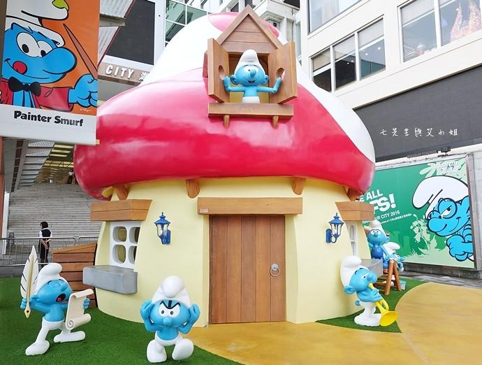 8 香港 海港城 Harbourcity 藍精靈 十分勁