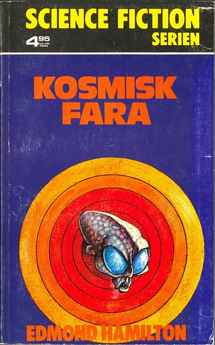 Edmond Hamilton, Kosmisk fara [The Quest Beyond the Stars] (1975 - Bokförlaget Regal, Science Fiction serien 18, Sweden), unknown cover artist