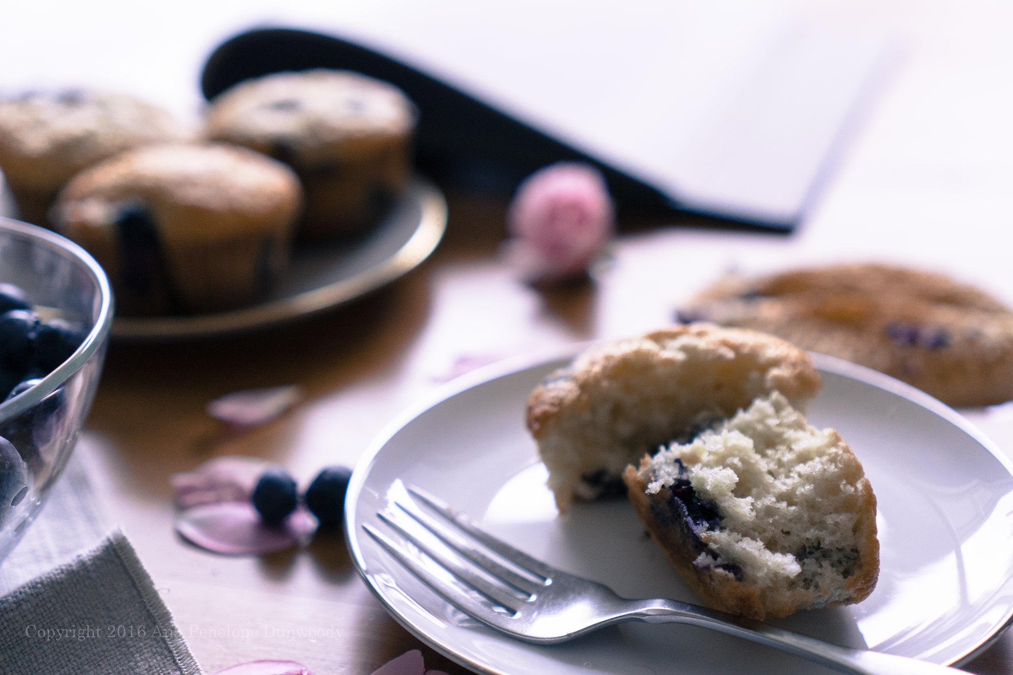 Blueberry Muffins detail