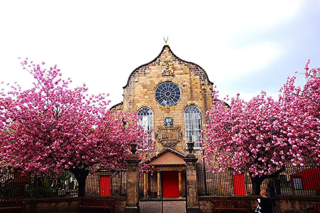 Canongate Kirk, Edinburgh, Scotland