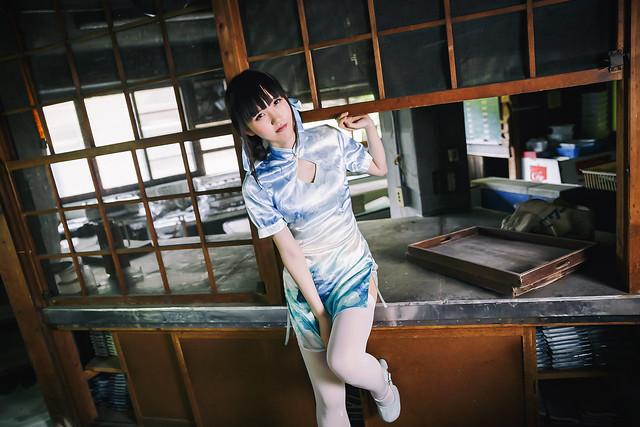 Taiwan-style portrait