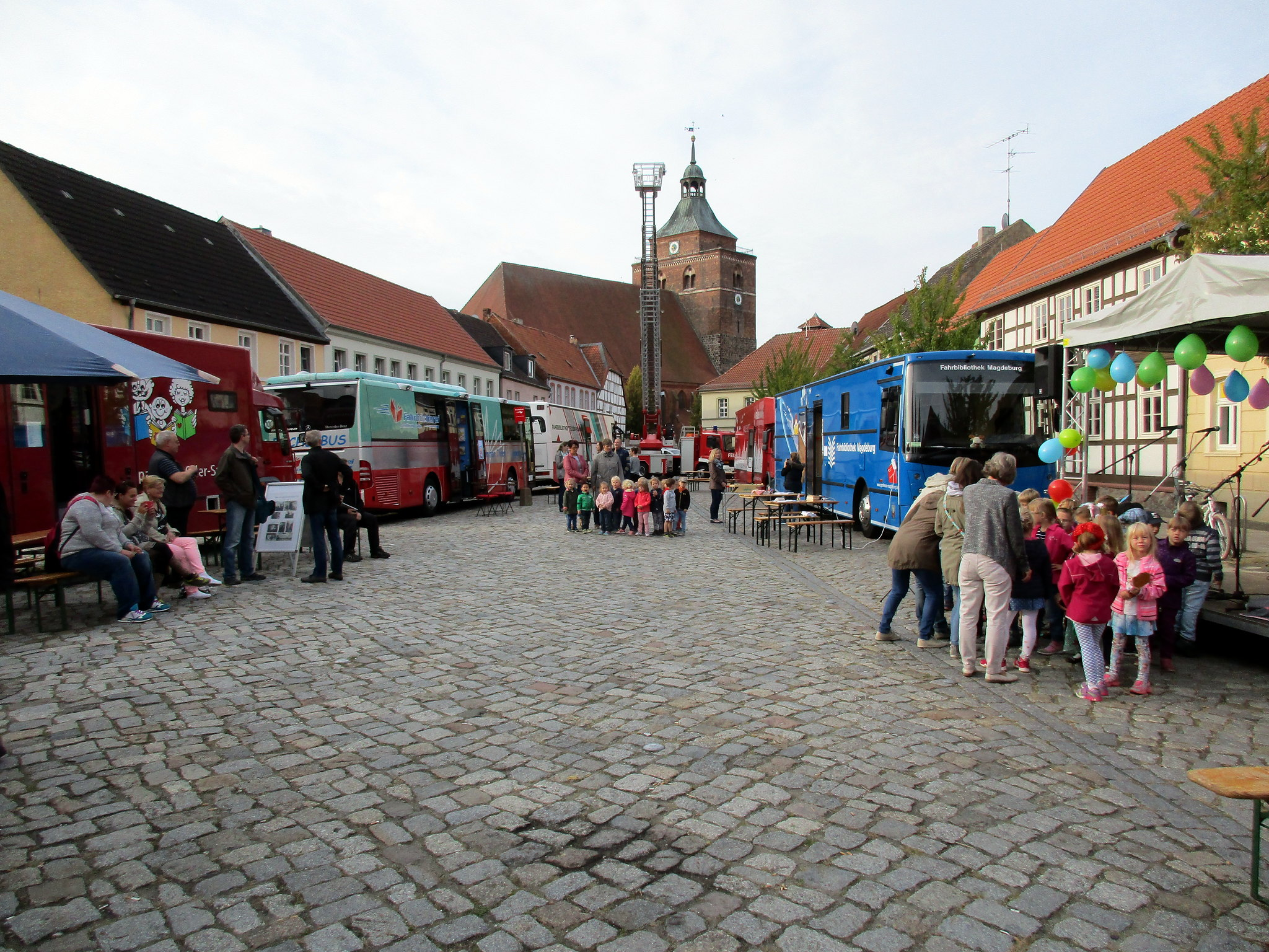 Bücherbustreffen in Osterburg 2016