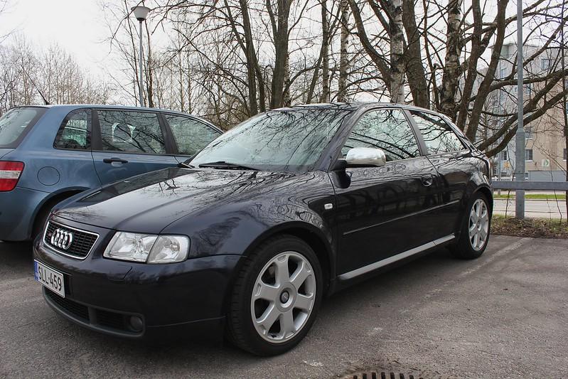 Japrnoo: Datsun 510 & EX Audi S3 17157235620_6c57136627_c