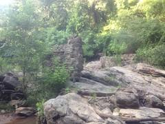 Ruins Near Cochran Mill Falls