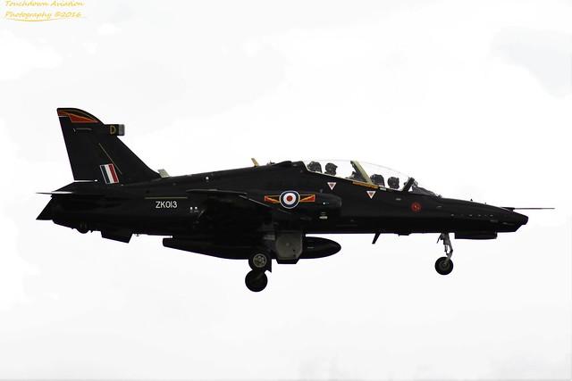Royal Air Force Hawk T.2 ZK013 03AUG16