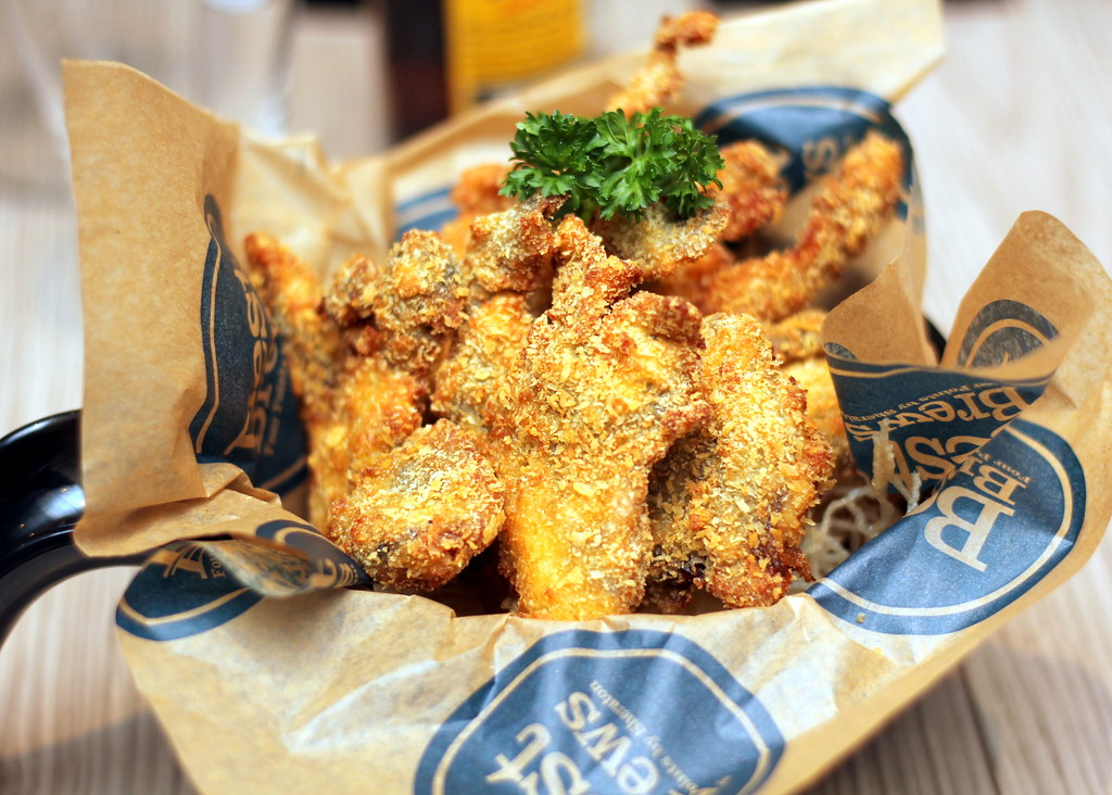 Four Points: The Best Brew - Panko Crusted Soft Shell Crab