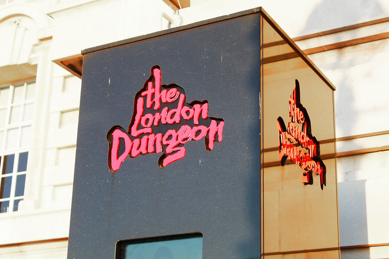 Lontoo päivä 2 6 London Dungeon