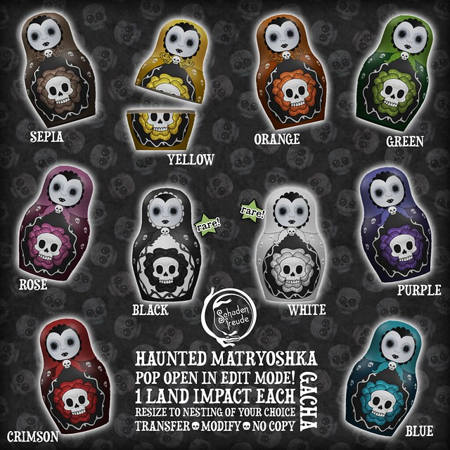 haunted matryoshka