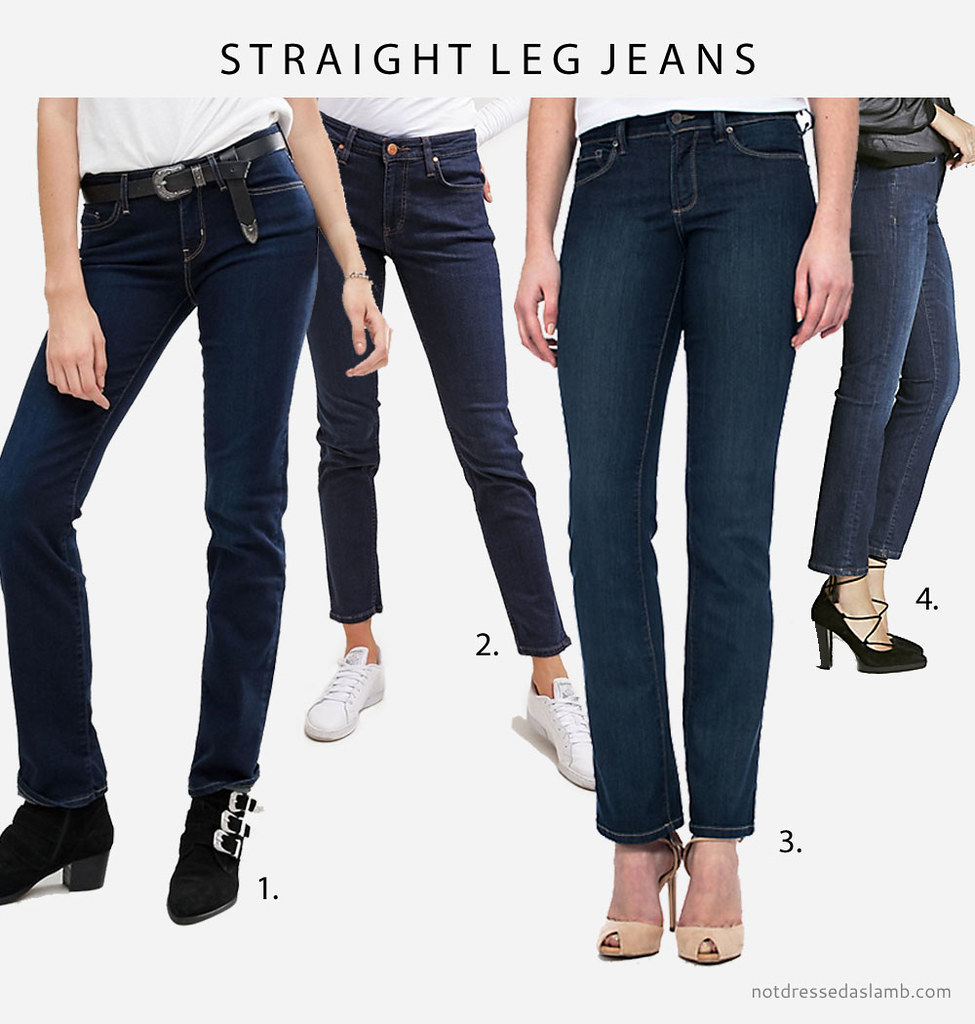 Capsule Wardrobe Pieces That Suit All Body Shapes & Sizes - No.2 Classic Dark Wash Jeans (straight leg jeans) | Not Dressed As Lamb