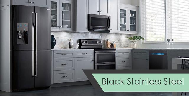 black-stainless-kitchen