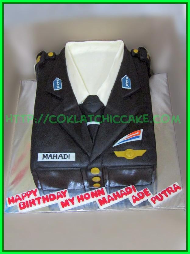 Cake Seragam PT KA