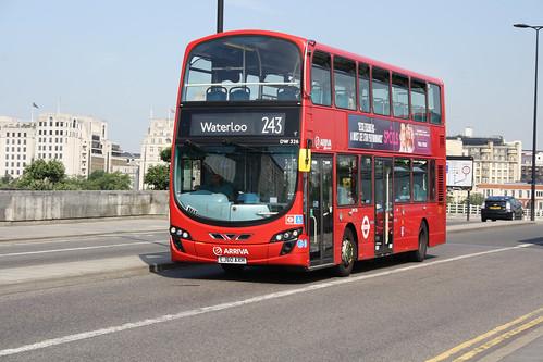 Arriva London North DW326 LJ60AXH