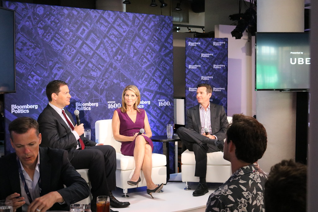 RNC Bloomberg Politics and Uber host Lunch with Nicolle Wallace and David Plouffe