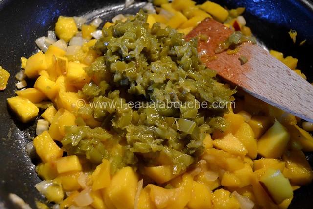 Chutney Mangue & Piments Verts © Ana Luthi Tous droits réservés 004
