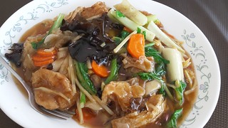 Buddha's Special Hofan Noodle from Pu Kwong
