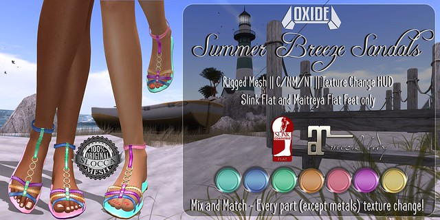 OXIDE Summer Breeze Sandals - The Seasons Story