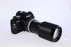 Minolta X700 + Foca 2X+ Panagor 80-200mm