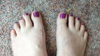 Pretty feet!