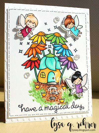 Magical (rainbow) Fairy Garden