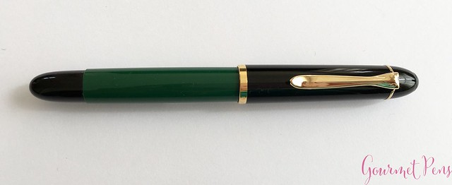 Review Pelikan M120 Green & Black Fountain Pen @couronneducomte 5