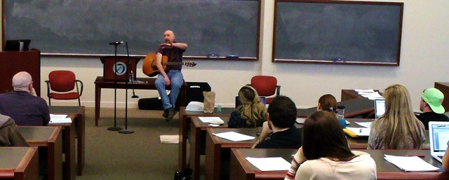 Songwriting Workshop at Vanderbilt Law School