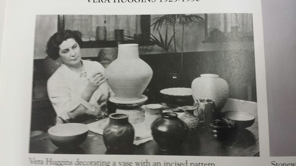 Researc photo for the China Walk history mural of Royal Doulton Pottery