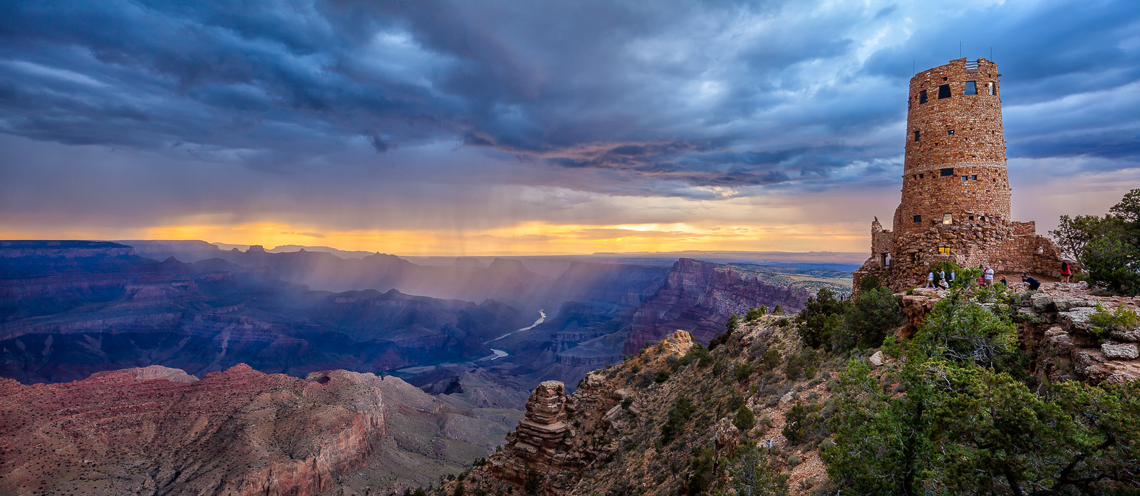 Desert View Thunderstorm - Grand Canyon National Park