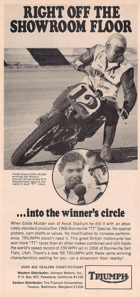 Triumph Eddie Mulder