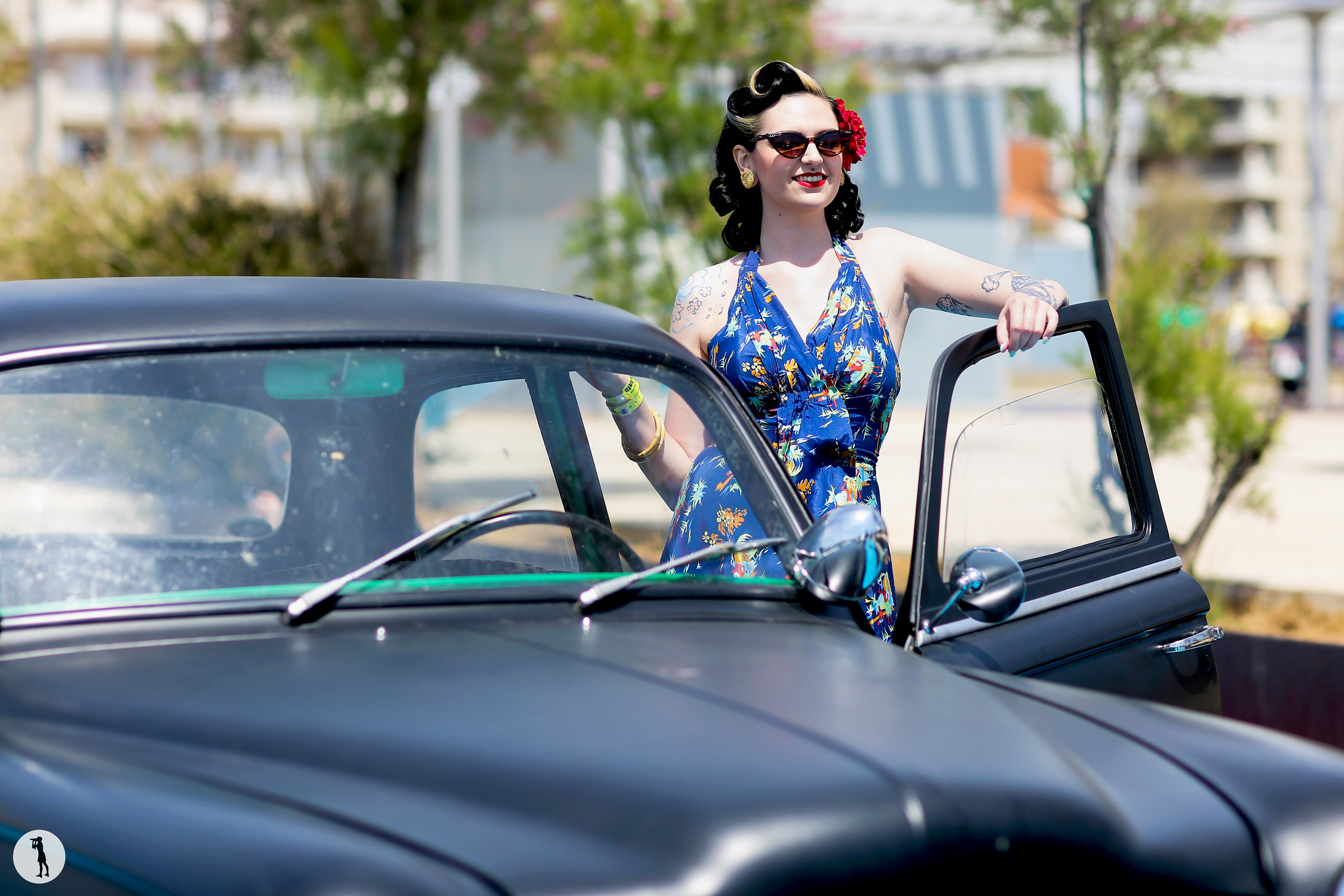 Crazy Car Show 2015, Rockabilly, Calafell