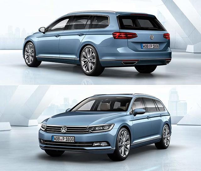 Универсал Volkswagen Passat Variant B8. 2014 - наше время