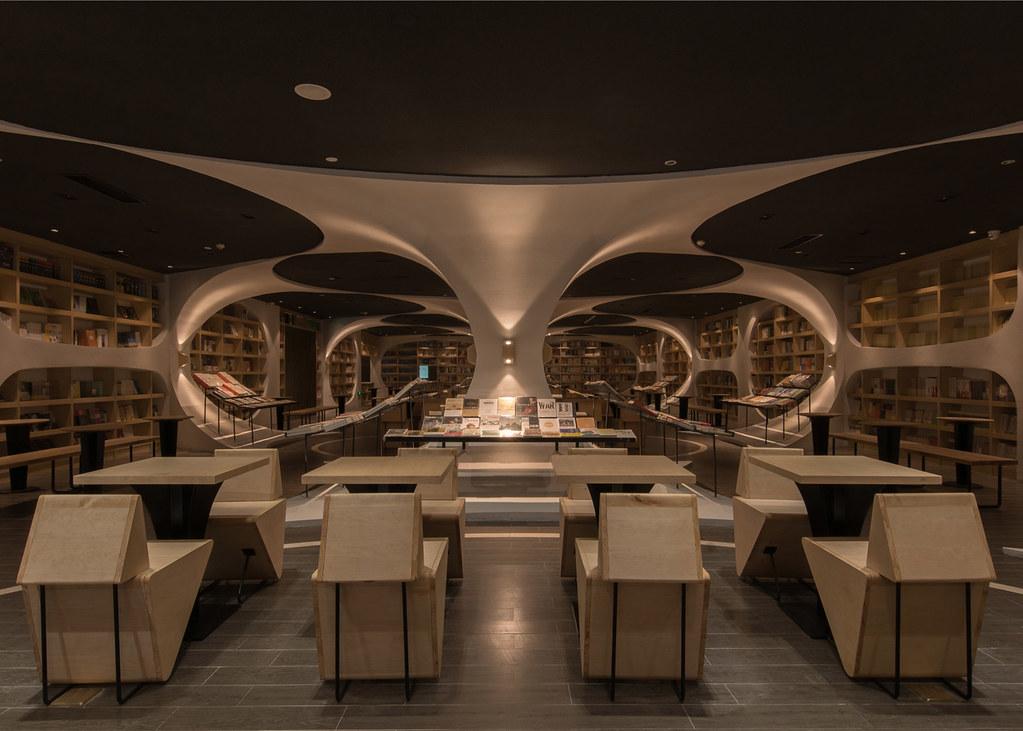Книжный магазин Zhongshuge в Янчжоу. Проект XL-Muse