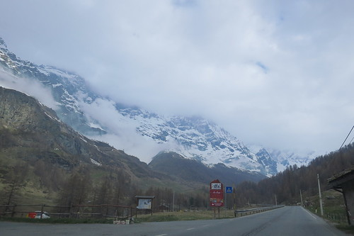 on way to Breuil-Cervinia