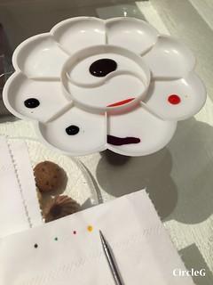 CIRCLEG 香港 火炭 笠笠咖啡 拉花 CAFE 2D 3D 海綿寶寶 遊記 (14)